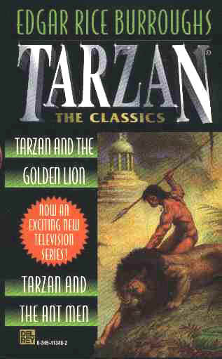 Tarzan and the Golden Lion cover